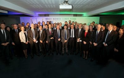 One Planet Summit: CETUP signs the French Business Climate Pledge