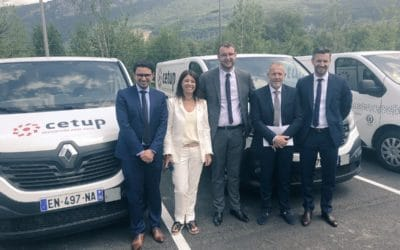 Cetup report – Visit of Monsieur Damien Pichereau, MP for the Sarthe department  – France 3 Alpes television news
